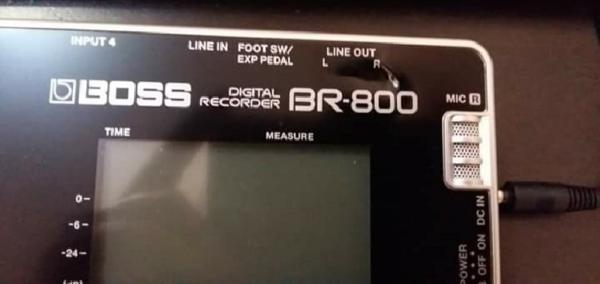 GRABADORA BOSS BR800