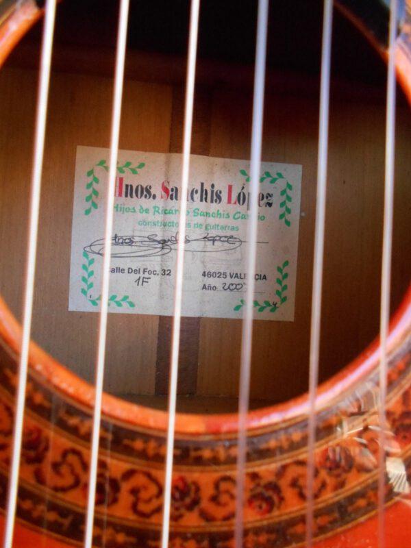 Guitarra flamenca Hermanos sanchís carpio