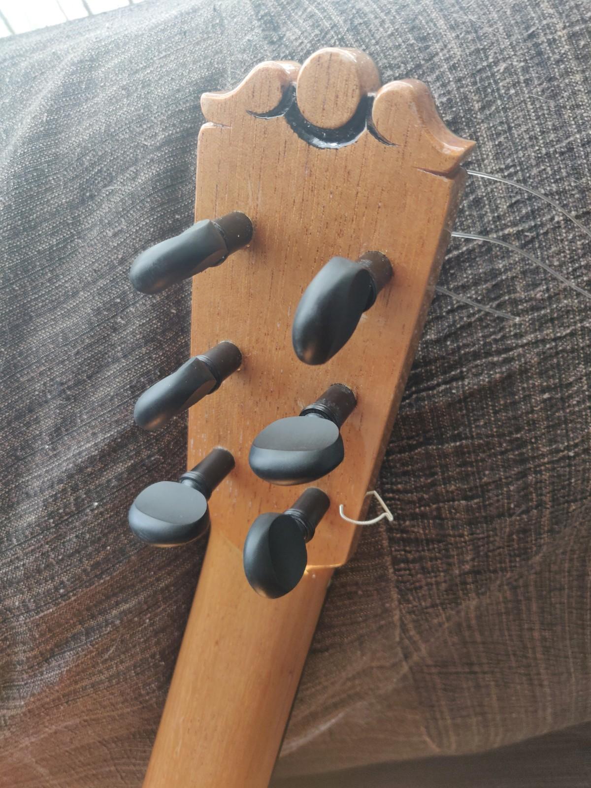 clavijero de palillos guitarra flamenca